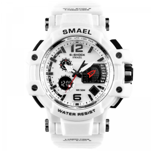 Shock Proof Wristwatches for Men with Dual Digital and Analogue Displays