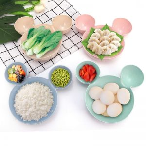 Cute Micky Mouse Shaped Plate