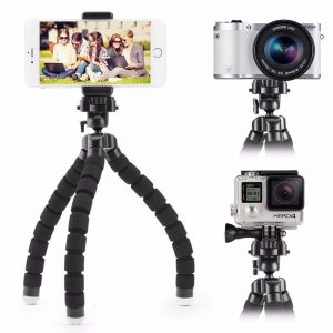 Rotatable Tripod for Camera and Smartphone