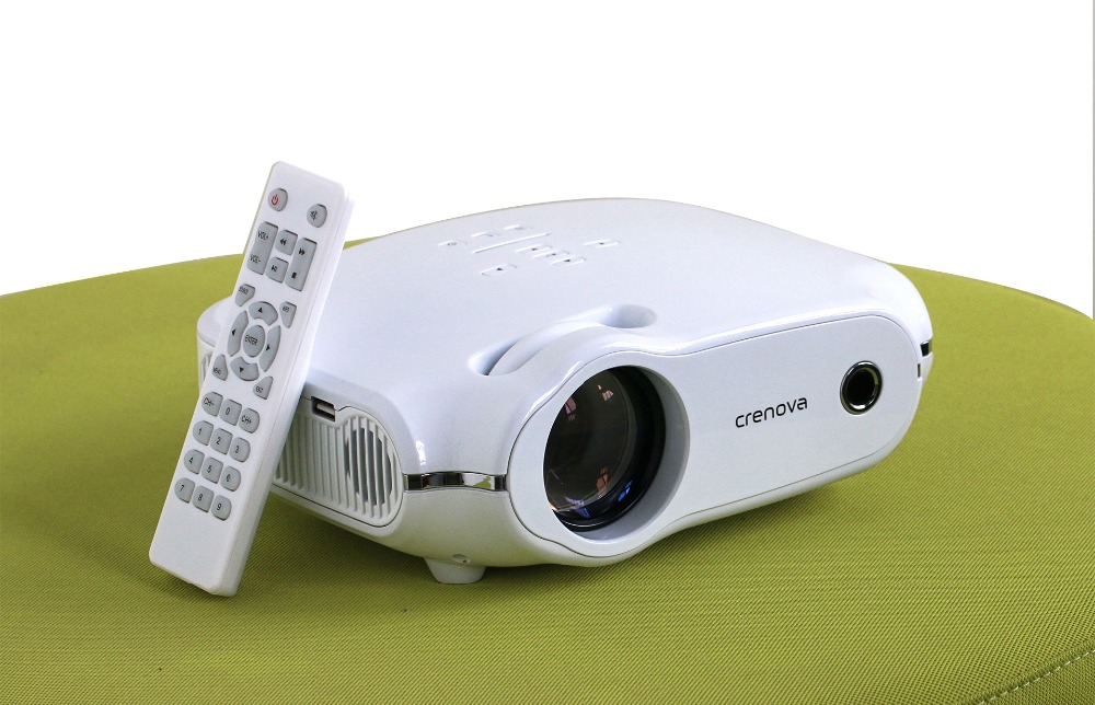 LED Home Projector with Built-in Speakers