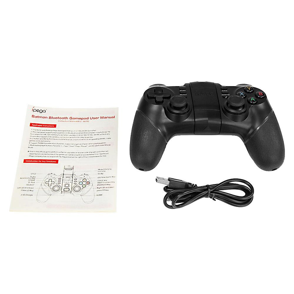 Universal Wireless Game Controller with Phone Clip