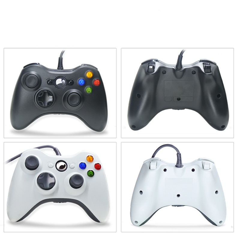 Wired and Wireless Game Controller for Xbox 360