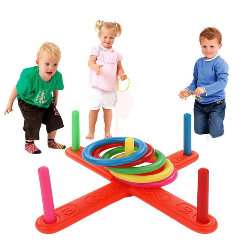 Outdoor Ring Toss Game for Kids