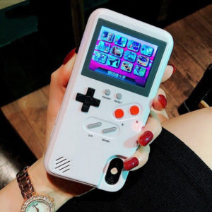 Colorful Display Classic Game Phone Case for iPhone