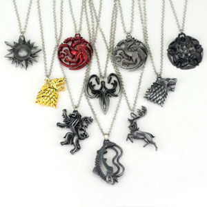 Family Pendant Necklace From Game of Thrones