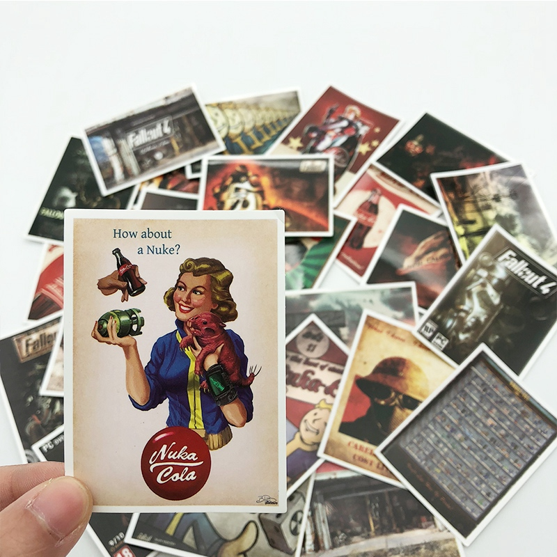 Fallout Game Stickers Set