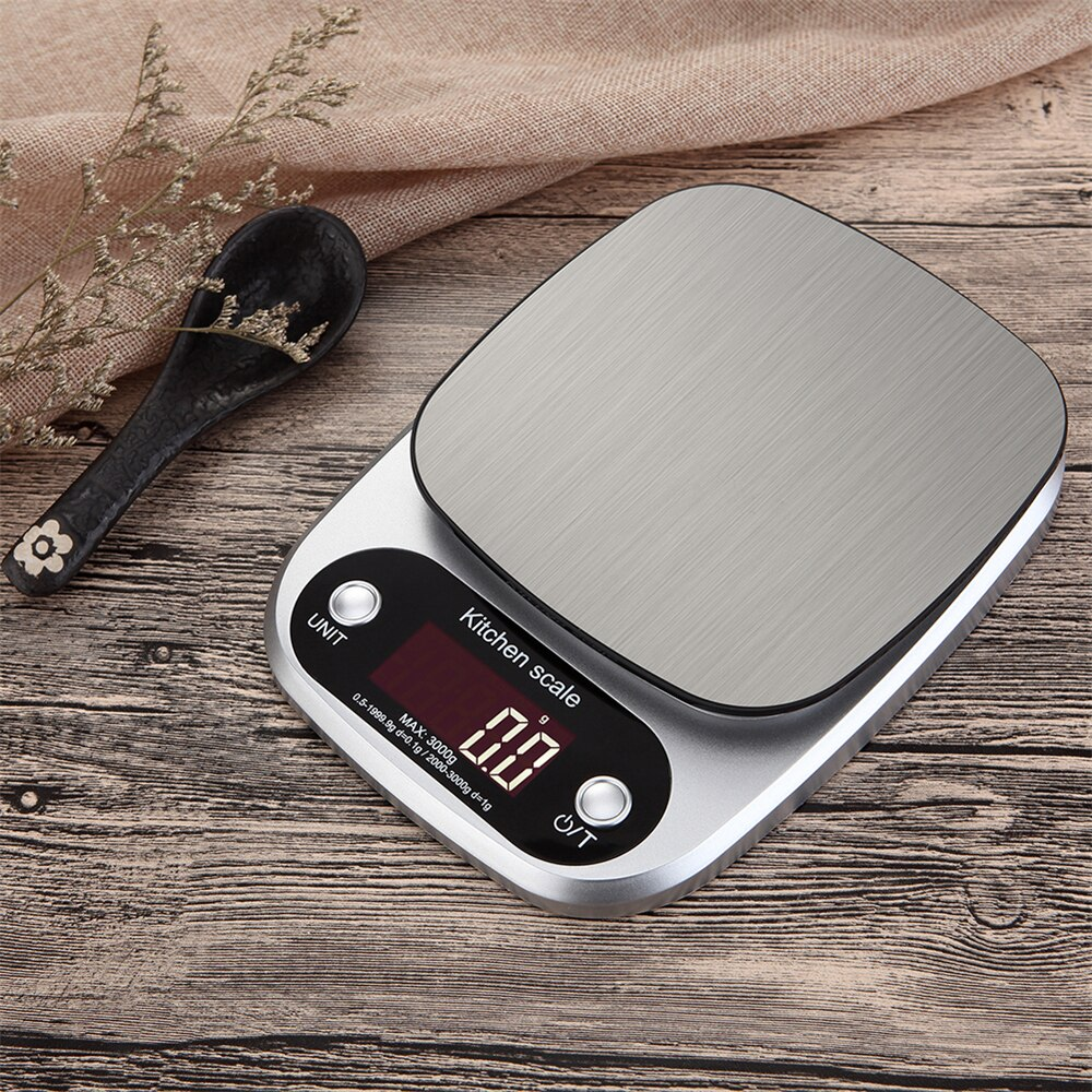 Stainless Steel Electronic Kitchen Scales