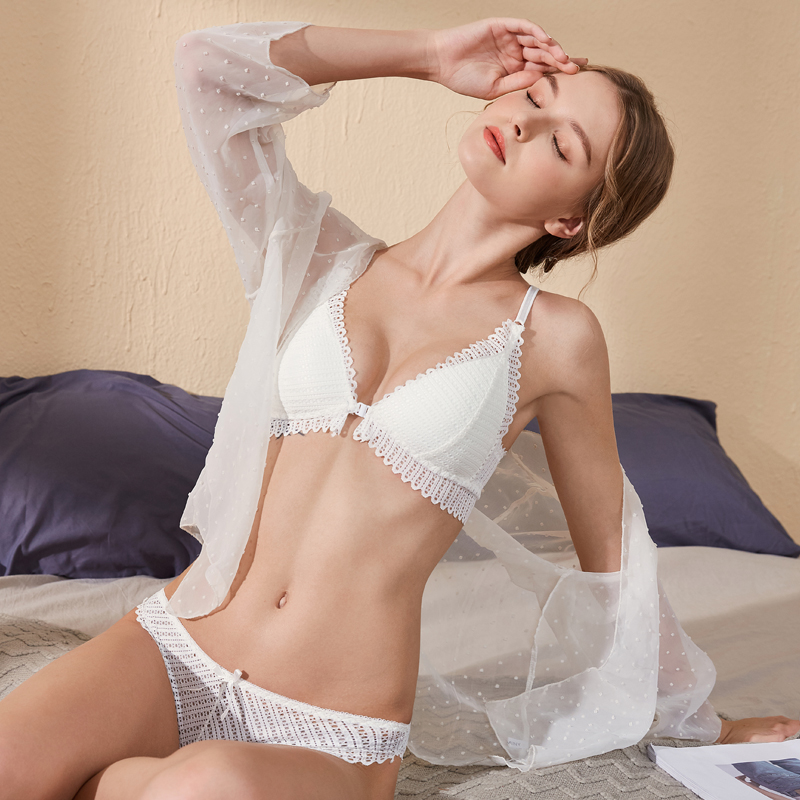 Backless Bra and Briefs Set