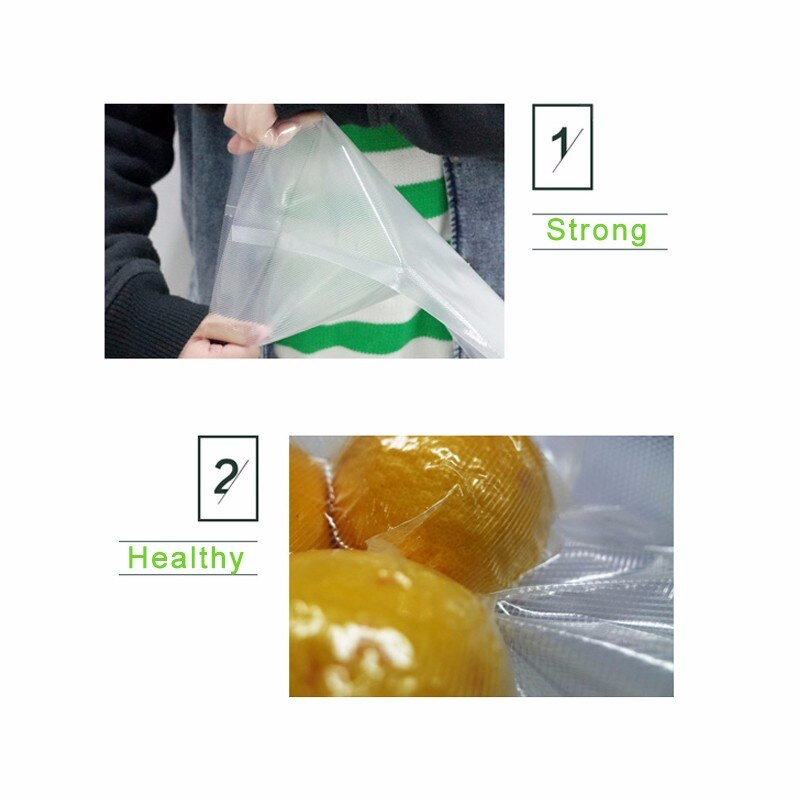 6 Size Option Vacuum Bags for Sealing Machine