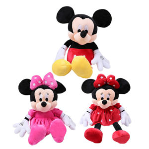 Mickey Mouse and Minnie Mouse Plush Toys