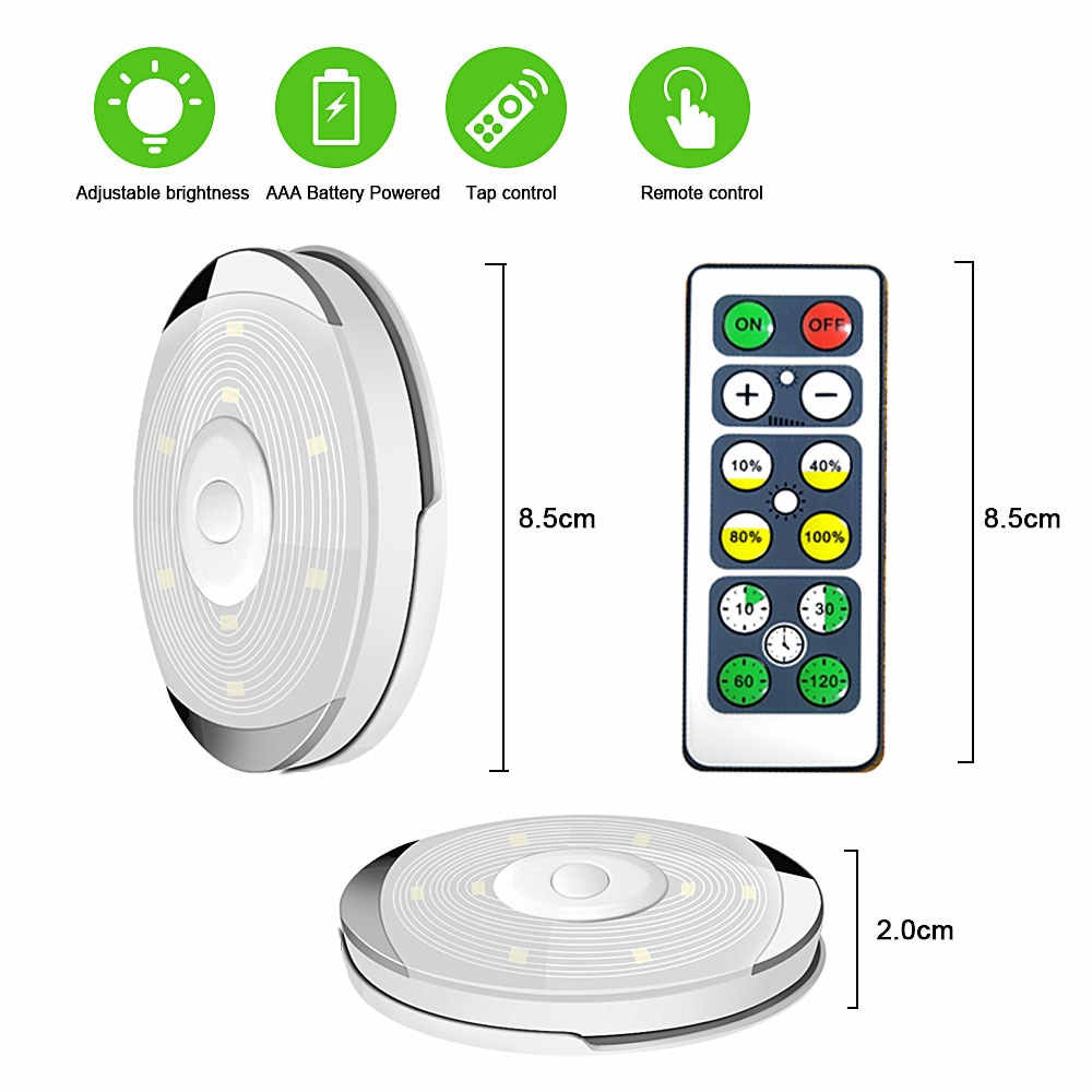 Touch Sensor Under Cabinet Lights with Remote Control