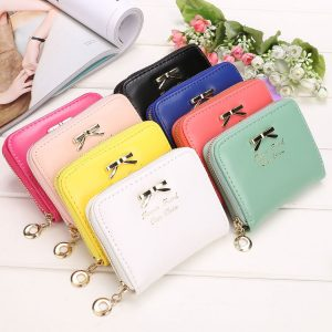Fashion Compact Bright Leather Women's Wallet