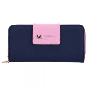 Women's Colorful Leather Wallet