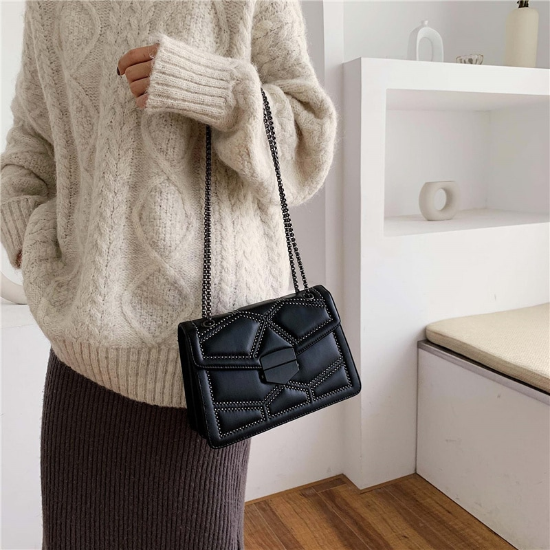 Women's Small Bag with Chain