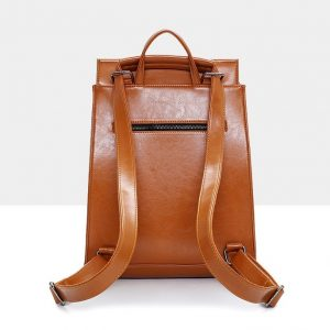 Women's Leather Urban Backpack