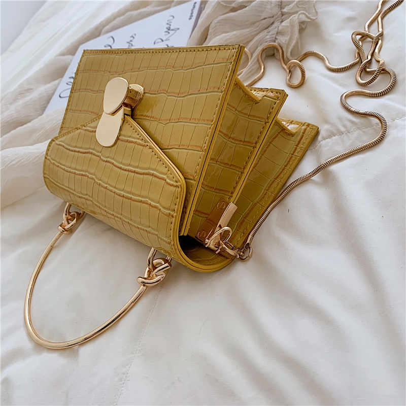 Stone Patterned Crossbody Bags for Women