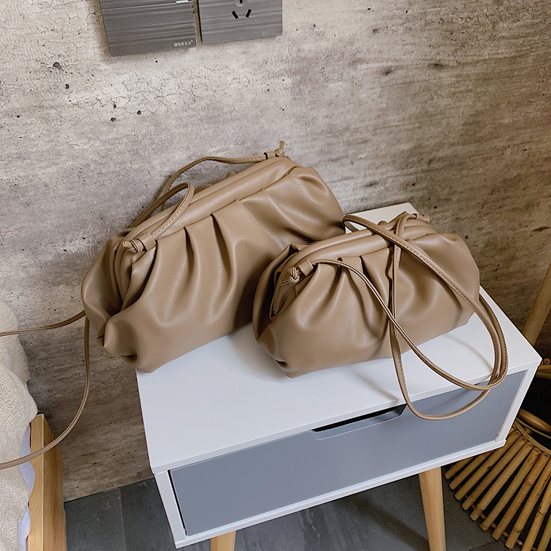 Solid Color Crossbody Bags for Women