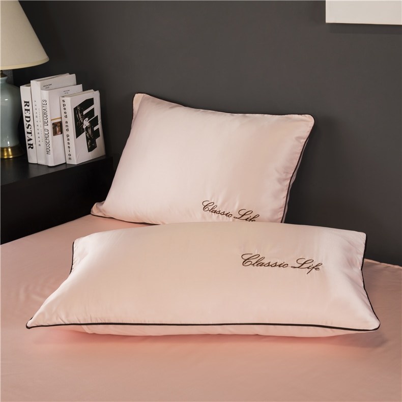 Two-Sided Mulberry Silk Pillow Case Set 2 Pcs