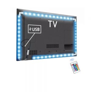 Adhesive TV LED Strip with L-Connectors