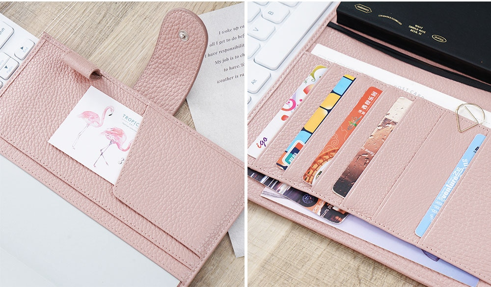 Genuine Leather Cover for Notebook